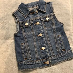 Old Navy jean jacket with buttons down front